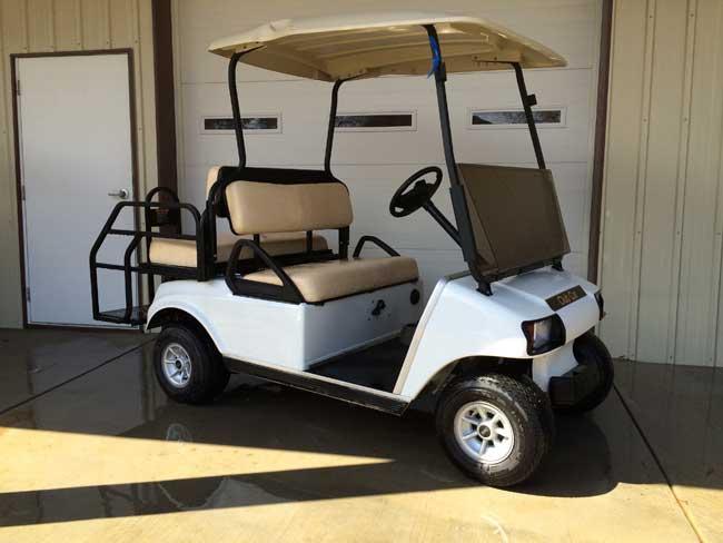 4-seat rental cart