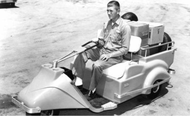 1930's Golf Cart